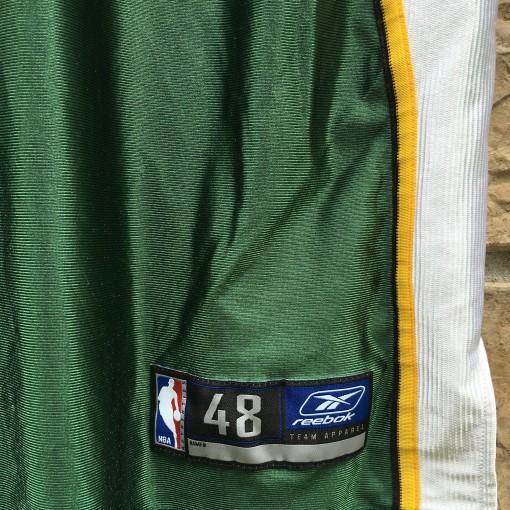 size 48 vintage reebok sonics jersey