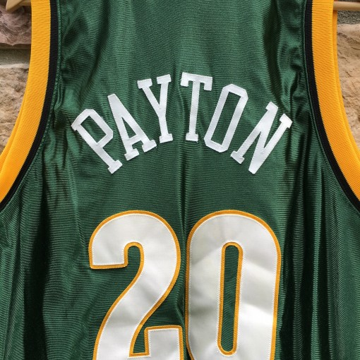 vintage gary payton seattle supersonics Reebok nba jersey
