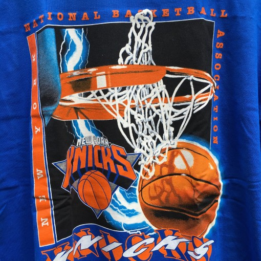 90's New York Knicks Logo 7 NBA t shirt