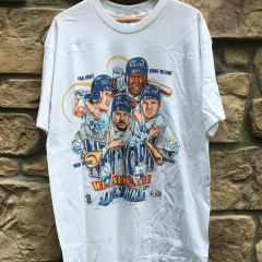 vintage deadstock 90's New York Yankees Caricature  t shirt
