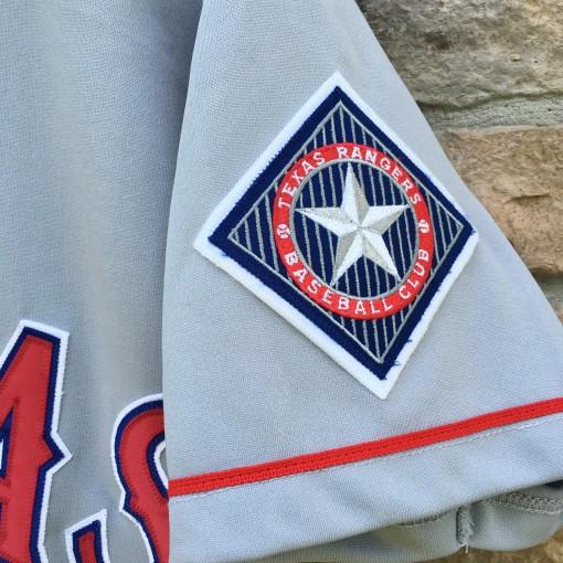 vintage Texas Rangers authentic MLB jersey