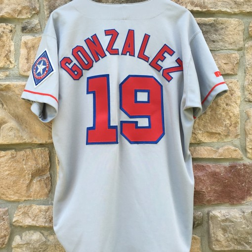 Juan Gonzalez Texas Rangers authentic jersey size 48