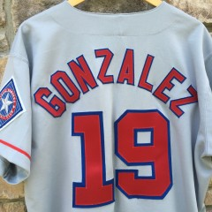 Authentic Juan Gonzalez Texas Rangers 90's MLB jersey
