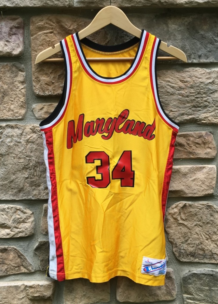 newest 9873c f0487 1986 Len Bias Maryland Terrapins Champion NCAA Jersey