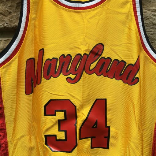 vintage Len Bias authentic Maryland jersey