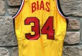 Vintage Len Bias University of maryland Terps basketball jersey