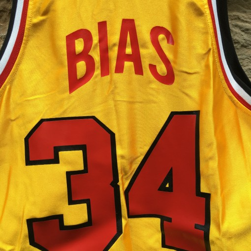 vintage Len Bias Maryland Basketball jersey