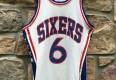 70's Philadelphia sixers Wilson NBA jersey