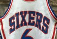 vintage 70's Dr. J Sixers 76ers NBA jersey