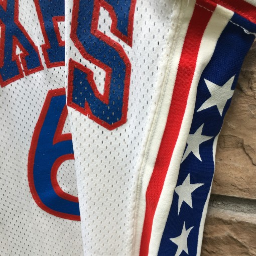 vintage 76ers NBA jersey