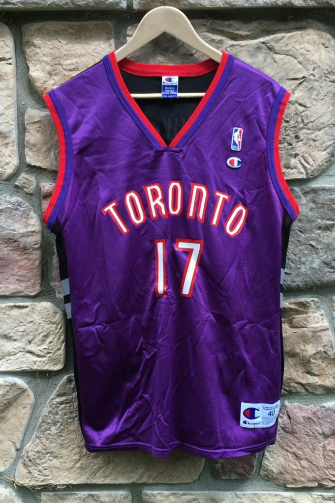 "38398b3cd 1999 Percy ""Master P"" Miller Toronto Raptors Champion NBA Jersey ..."