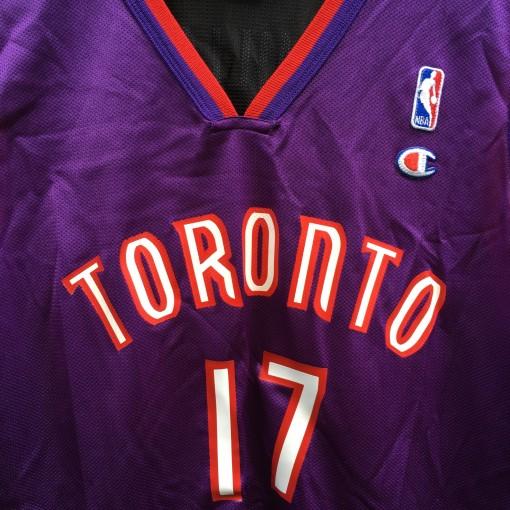 Vintage Toronto Raptors Champion NBA jersey size 40