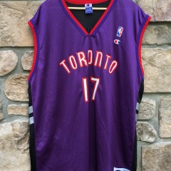 authentic Champion Toronto Raptors Percy Master P miller replica jersey size 52 XXL