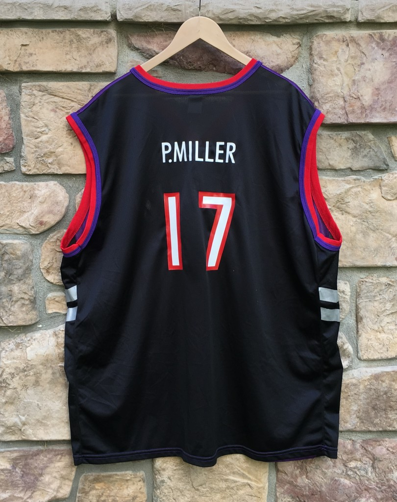 "low priced b2b35 e52a7 1999 Percy ""Master P"" Miller Toronto Raptors Champion NBA Jersey Size 52"