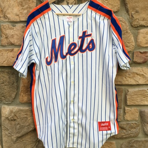 vintage 1991 New york Mets Rawlings authentic MLB jersey size 44