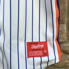 vintage Rawlings 90s New York Mets authentic MLB jersey