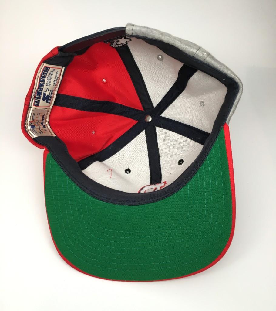 90 s Atlanta Braves Starter Letterman MLB Snapback Hat  2bfa8718a71