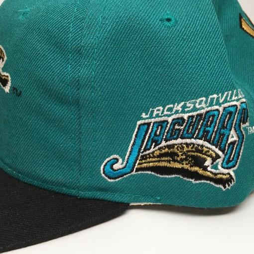 vintage Jacksonville Jagurs Sports Specialties Back Script snapback