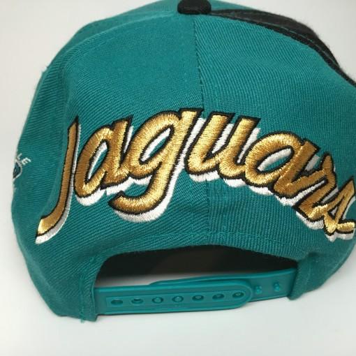Jacksonville Jagurs back script sports specialties 90's snapback hat