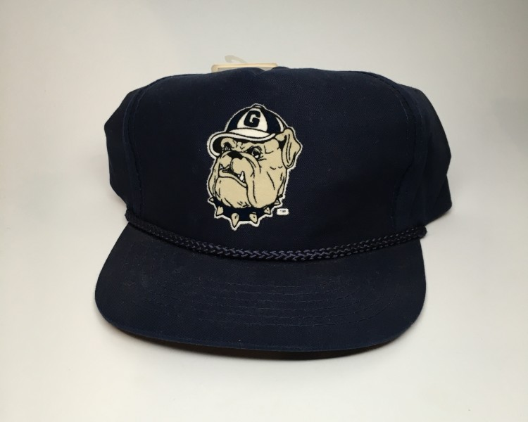 bcd05475d3b vintage 90 s Georgetown Hoyas NCAA Snapback hat
