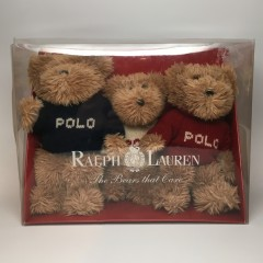 Vintage  Polo Ralph Lauren Stuffed Bears