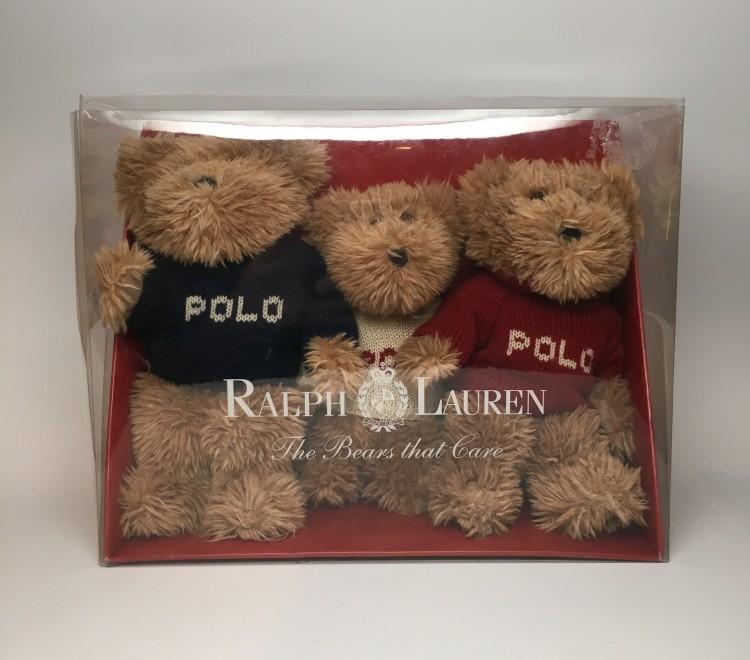 Set Teddy Ralph 2002 Lauren Polo Bear 3Ajq5Sc4RL