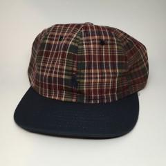vintage 90's Polo Ralph Lauren Plaid Hat