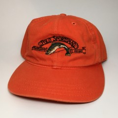 vintage 90's Polo Sportsman Polo Sport fishing hat orange