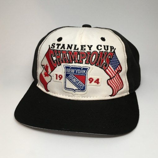 vintage 1994 New York Rangers Stanley Cup Champions Starter Snapback Hat