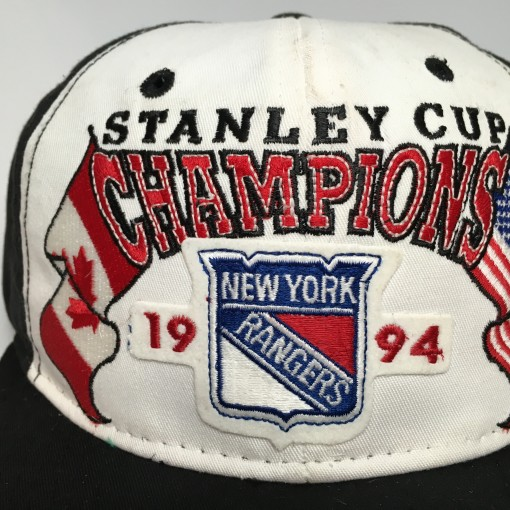 vintage 1994 New York Rangers Starter Stanley Cup Champions Snapback hat