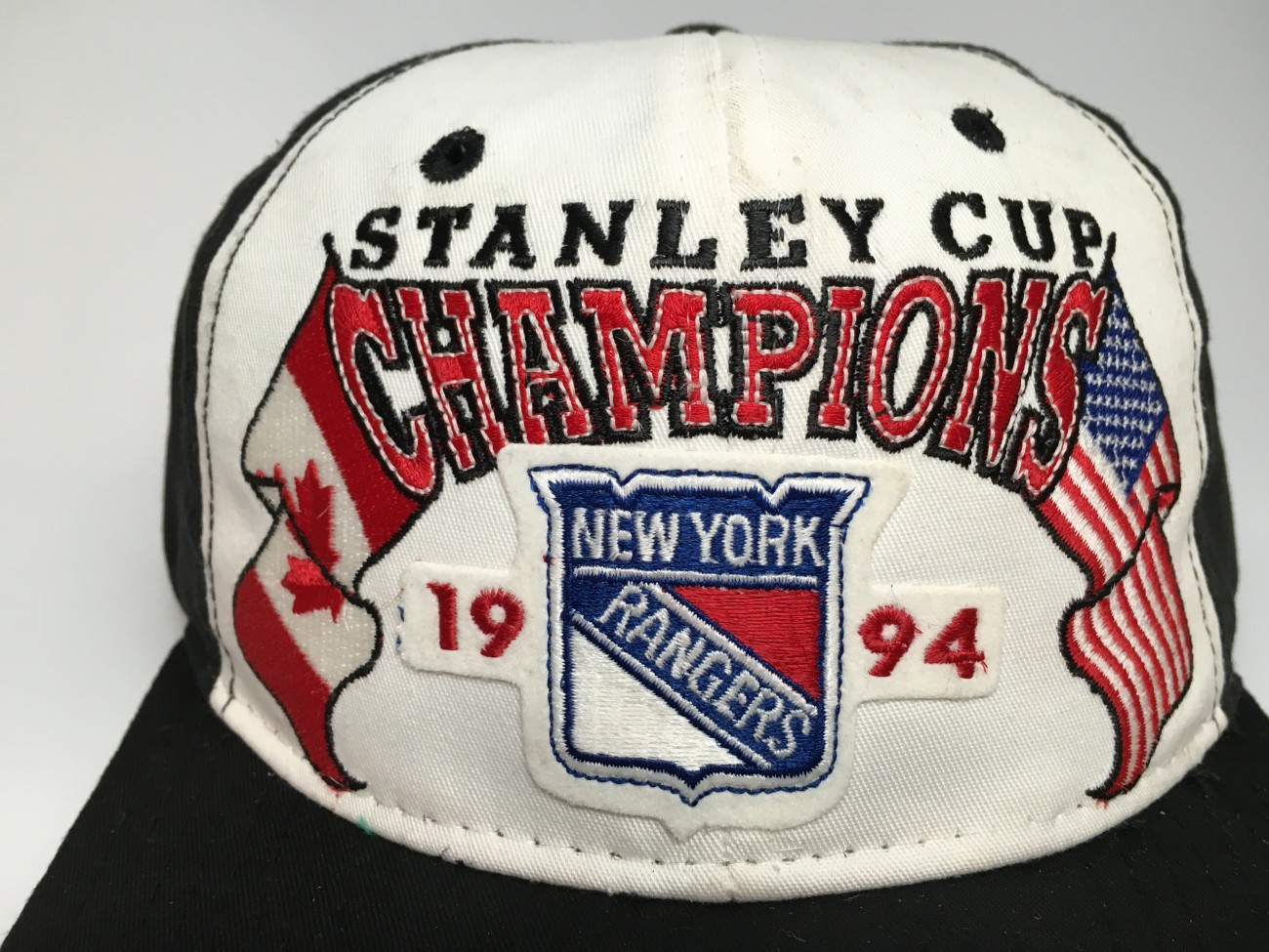 1994 New York Rangers Starter Stanley Cup Champions NHL Snapback Hat ... 2df49e857