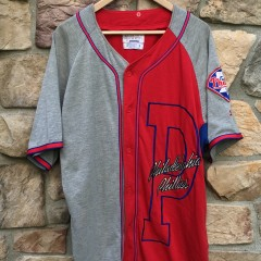 90's Philadelphia Phillies Starter colorblock MLB jersey