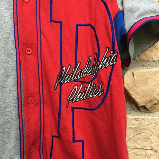 vintage Philadelphia Phillies Starter colorblock MLB jersey