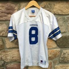 vintage 90's Troy Aikman Dallas Cowboys NFL jersey