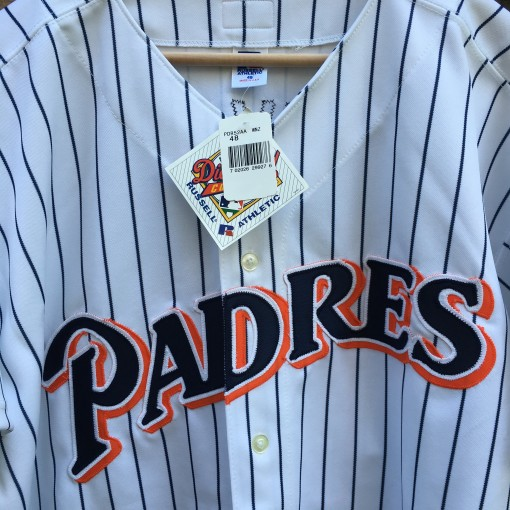 Deadstock 90's San Diego Padres MLB jersey