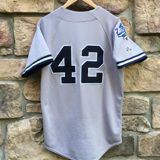 vintage Mariano Rivera New york yankees 1998 world series MLB jersey size medium