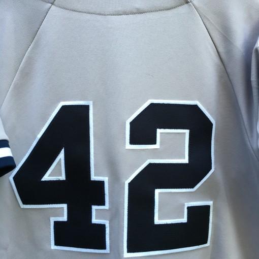 c7d7e8a92 1998 Mariano Rivera NY Yankees World Series MLB Jersey Size Medium ...
