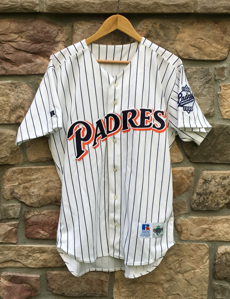 best website d3916 c1b53 1999 Tony Gwynn San Diego Padres Authentic Russell MLB Jersey Size 44
