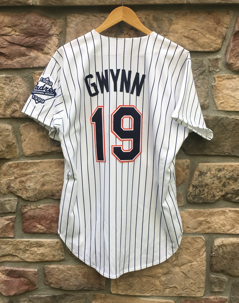 best website 15458 35165 1999 Tony Gwynn San Diego Padres Authentic Russell MLB Jersey Size 44