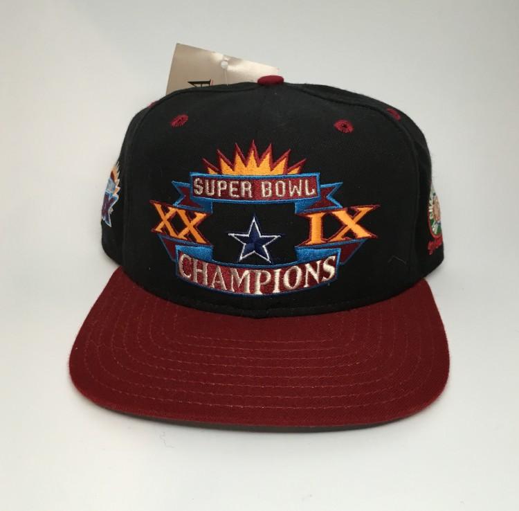 Vintage Super Bowl XXIX Dallas Cowboys Misprint New Era Snapback hat 44e2ec087101