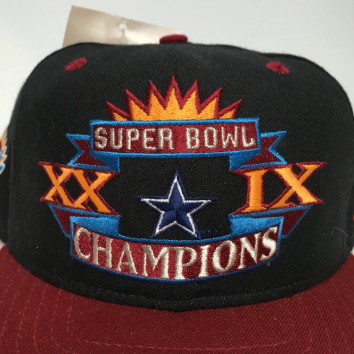 Misprint Super Bowl Champions Dallas Cowboys snapback hat