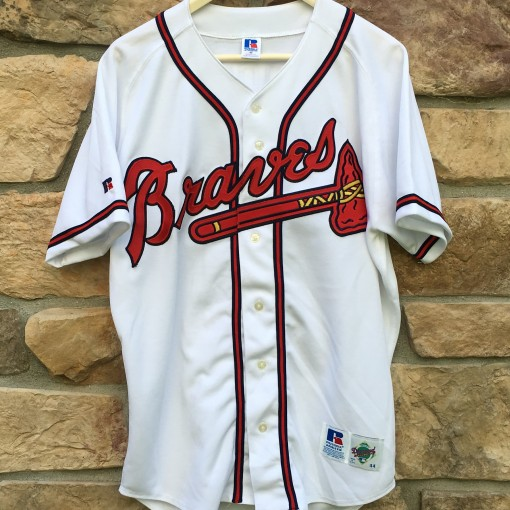 Vintage Atlanta Braves Greg Maddux Authentic Russell Diamond Collection MLB jersey size 44