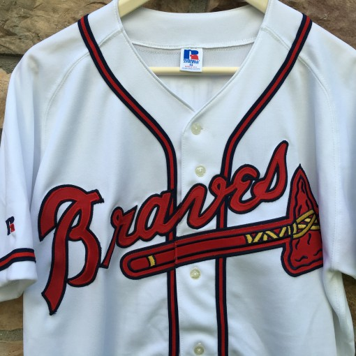 vintage authentic Atlanta Braves jersey