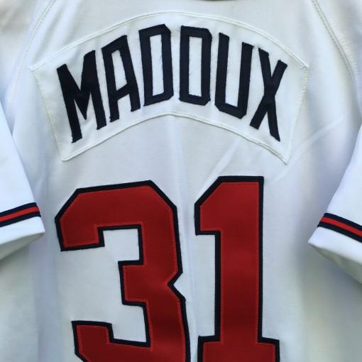 vintage Greg Maddux Braves Jersey