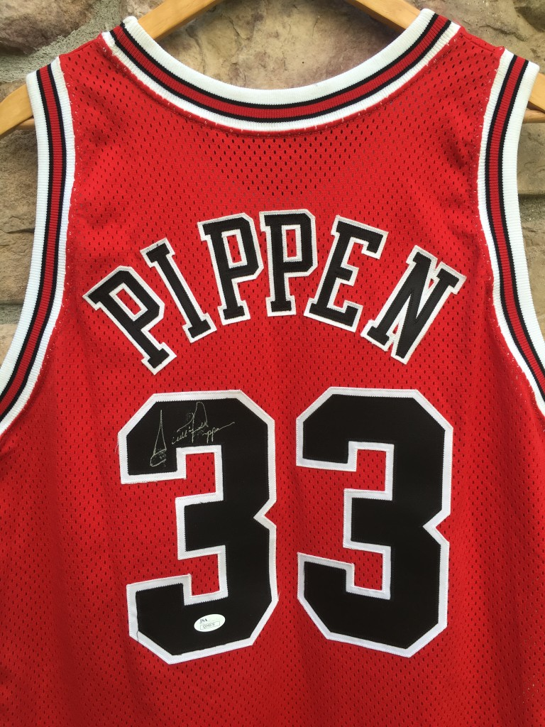 watch c679f 30a18 1994 Scottie Pippen Chicago Bulls Authentic Champion NBA Jersey Size 48