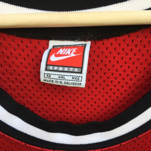 vintage Nike orange tag authentic NBA jersey
