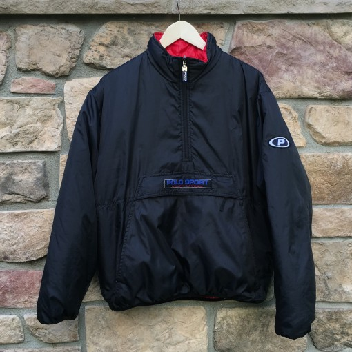 vintage 90's Polo Sport Reversible jacket
