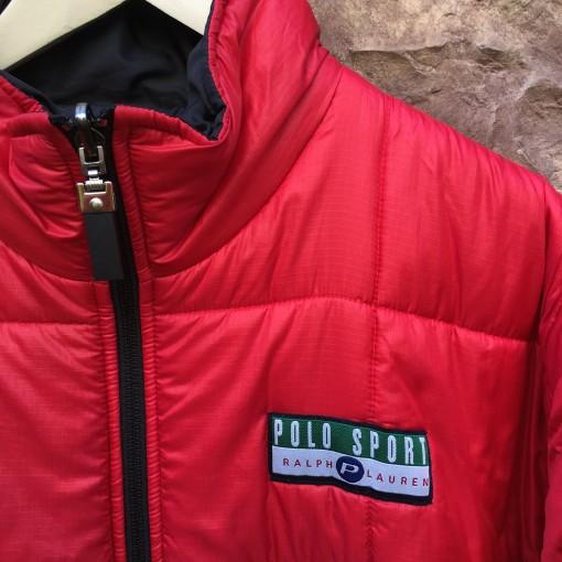 Vintage Polo Sport Ralph Lauren reversible jacket