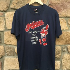 Vintage Cleveland Indians this ain't no mickey mouse club t shirt