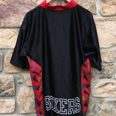 vintage sixers iverson shooting shirt